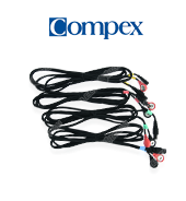 COMPEX Set of 4 bipolar cables Series 5